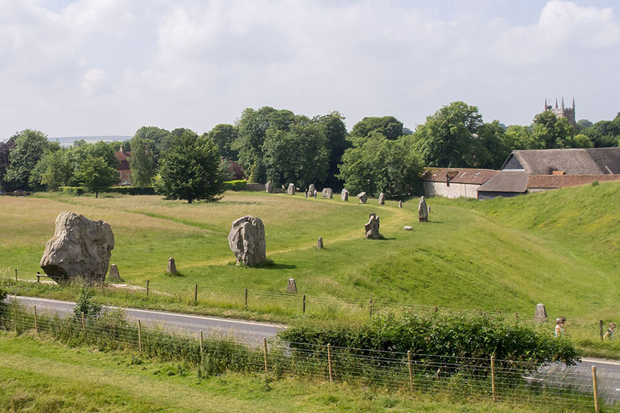 Avebury by Ed Webster